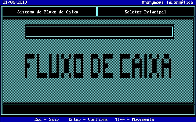 Fluxo Caixa em Clipper